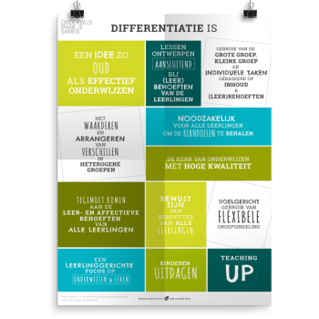 Prikkelende poster:  Differentiatie is