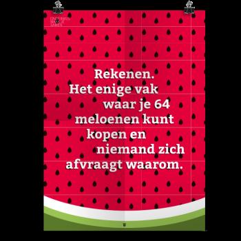 Prikkelende poster: 64 Meloenen
