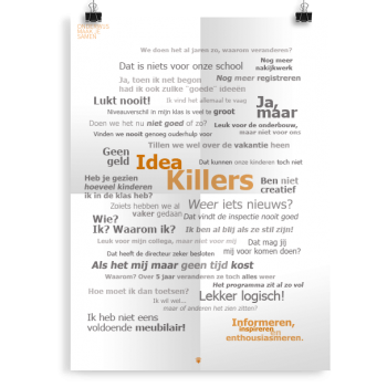 Prikkelende poster: Idea killers