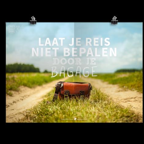 Prikkelende poster: Reisbagage