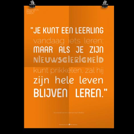 Prikkelende poster: Je kunt een leerling