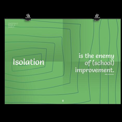 Prikkelende poster: Isolation