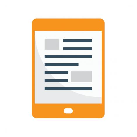 E-reader Pratend en Lezend woorden leren