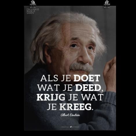 Prikkelende poster: Als je doet wat je deed, krijg je wat je kreeg