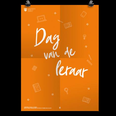 Prikkelende poster: Dag van de leraar