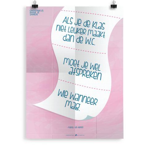 Prikkelende poster: Wc papier