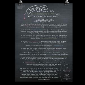 Prikkelende poster: Start schooljaar