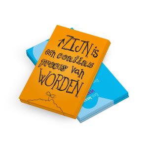 Prikkelende set (10) ansichtkaarten voor de schoolleider